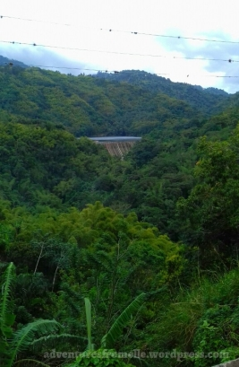 Hermitage Dam from afar