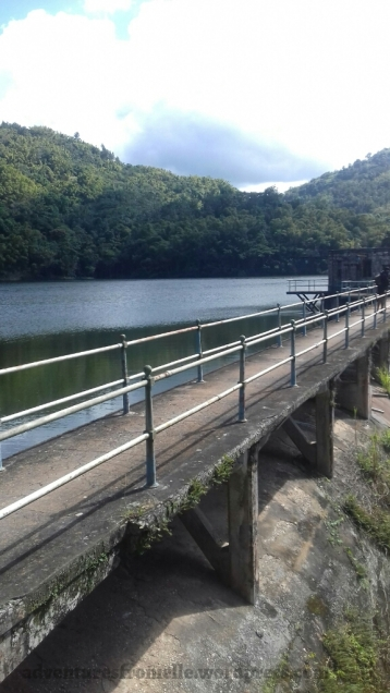 Above the Hermitage Dam and Reservoir