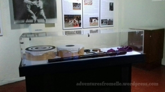 Display at the Spirit of Budo: Japanese Exhibition