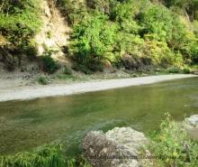 Johnson River, downstream the Reggae Falls, St. Thomas