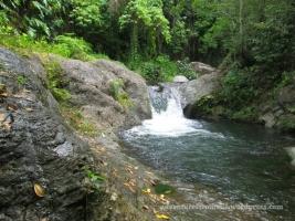 Gordon Town Falls' third cascade