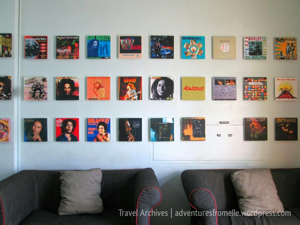 Bob Marley's records