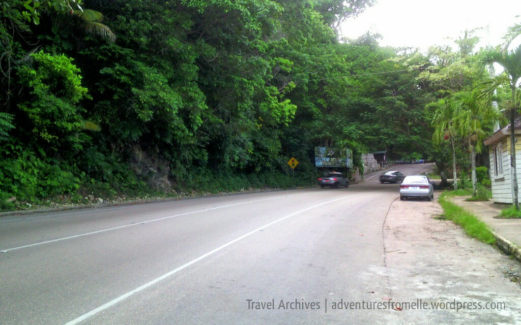 road to little dunns river