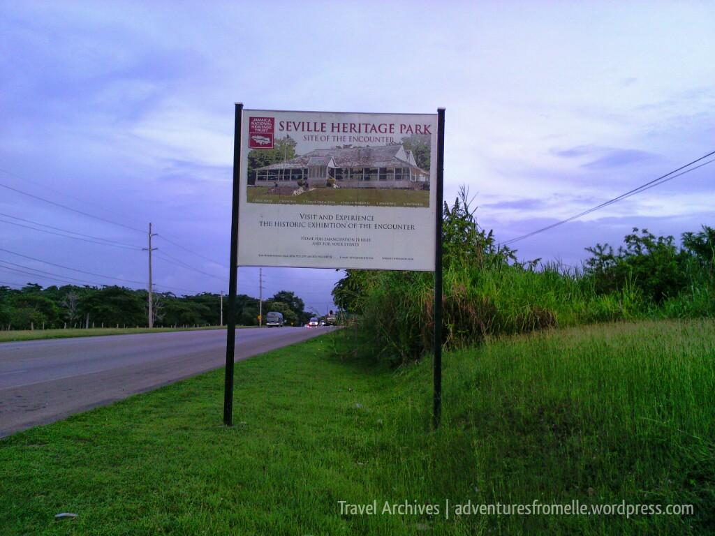 seville heritage park sign