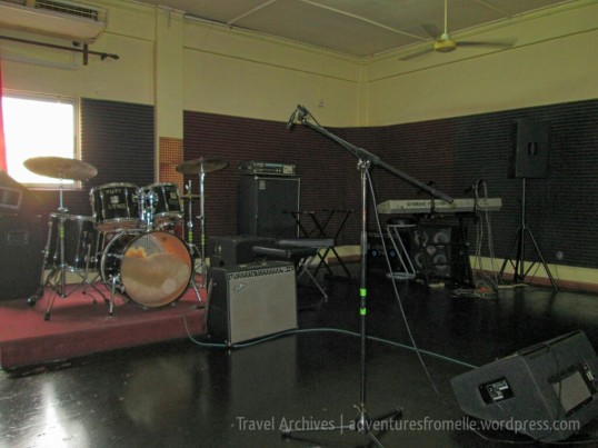Music equipment from Bob's time