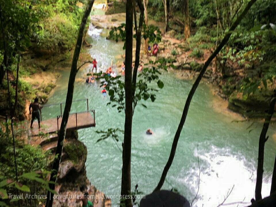 jump at blue hole