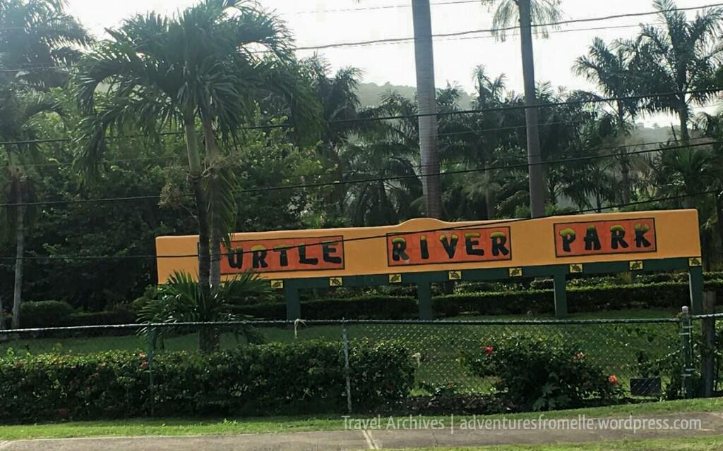 turtle river park sign