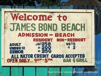 Opening hours & prices to James Bond Beach