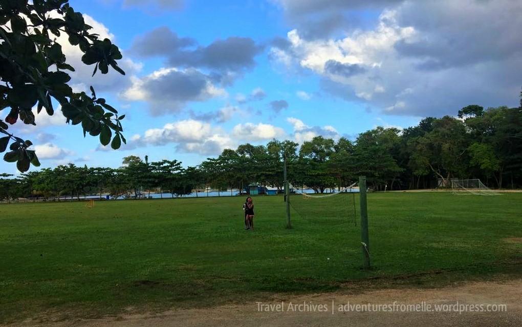 james bond beach football field