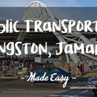 Public Transport Made Easy in Kingston, Jamaica