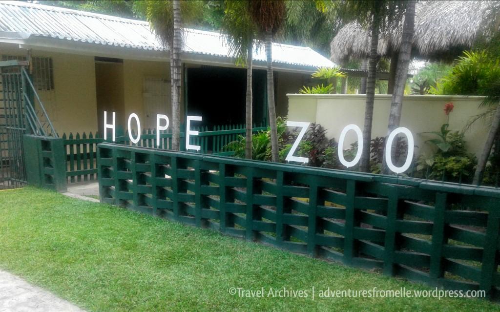 entrance-hope zoo kingston