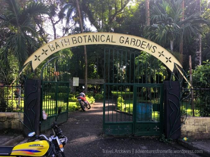 entrance to-bath botanical garden