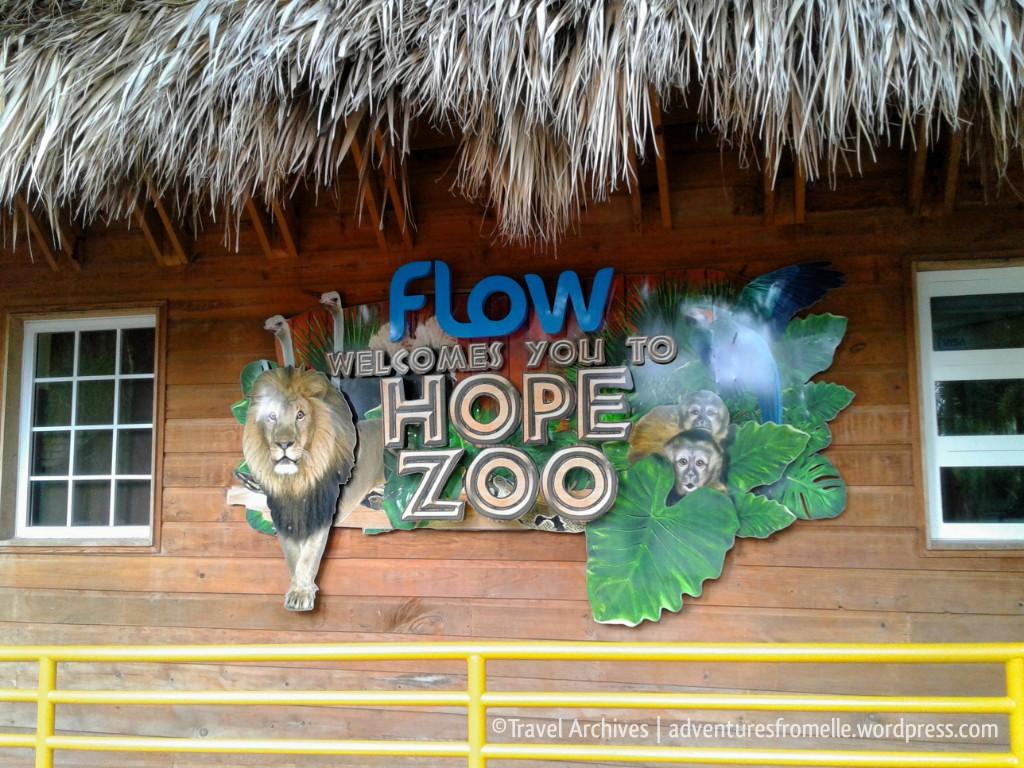 hope zoo-entrance