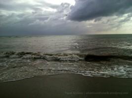 Lyssons Beach around 5pm