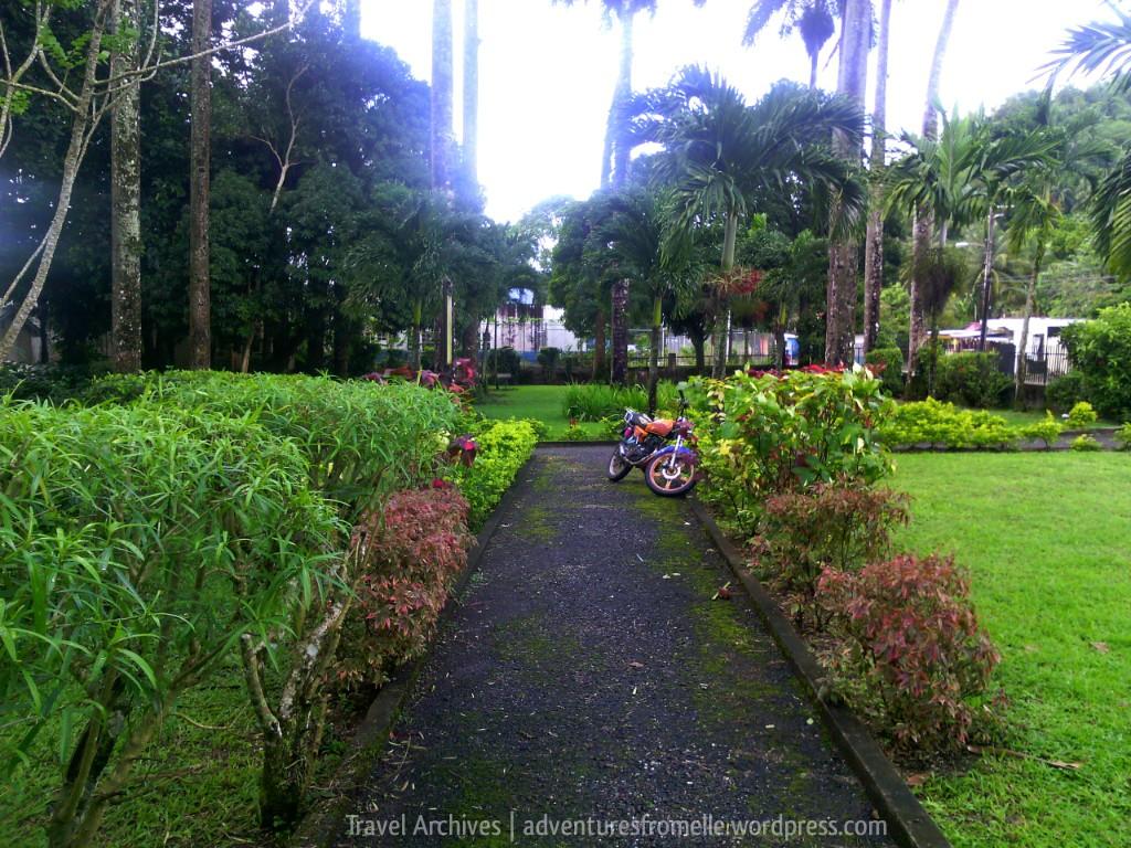 passageway-bath botanical garden