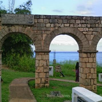 Old Spanish aqueduct