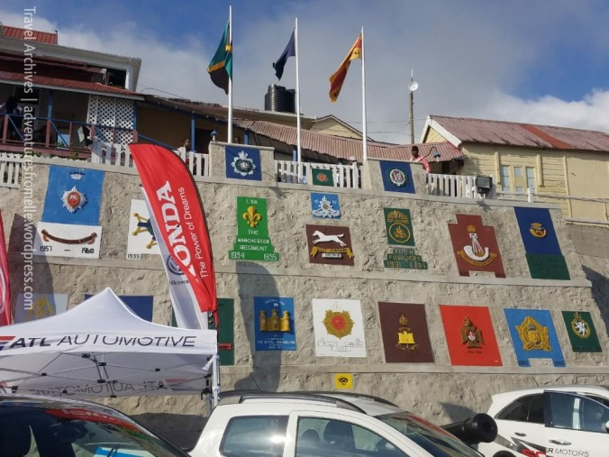 badges at parade ground newcastle jamaica