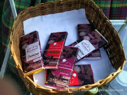 Mount Pleasant Chocolatiers artisan chocolate bars