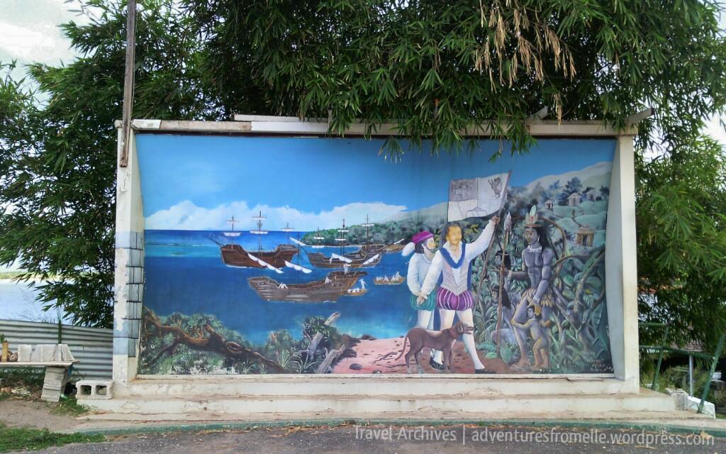 columbus mural-columbus park