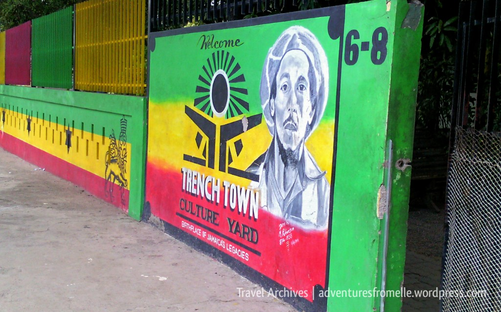 entrance trench town culture yard