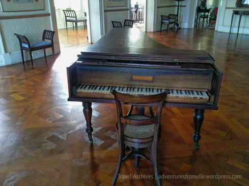 Grand piano from 1881