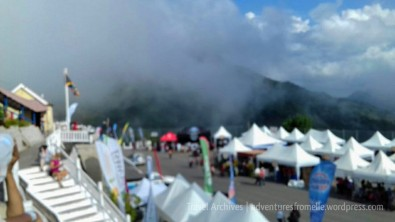 Look at the mist coming in 'round 4pm