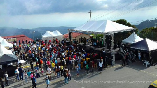 Tarrus Riley's performance from above