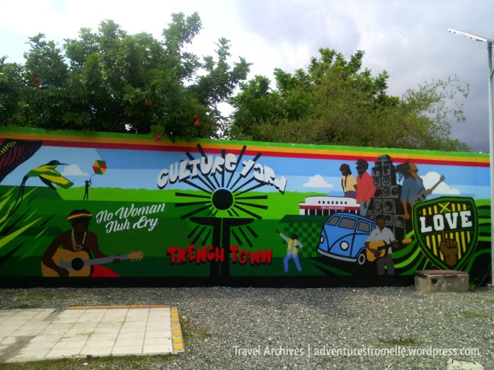 trench town culture yard mural