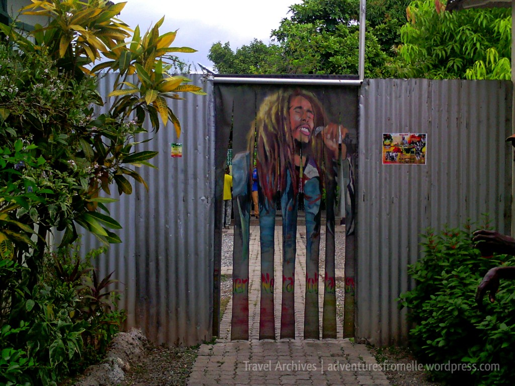 zinc entrance trench town culture yard