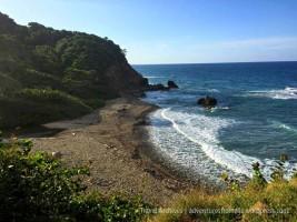 Robin's Bay Black Sand Beach
