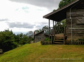 The cabins at Holywell