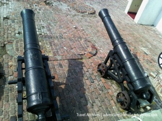 Two Fort Charles' cannons