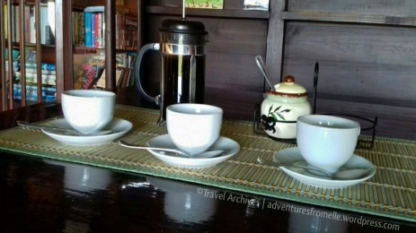 Blue Mountain coffee at the source
