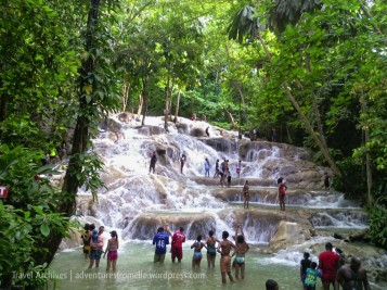 Pictured: the Dunn's River Falls