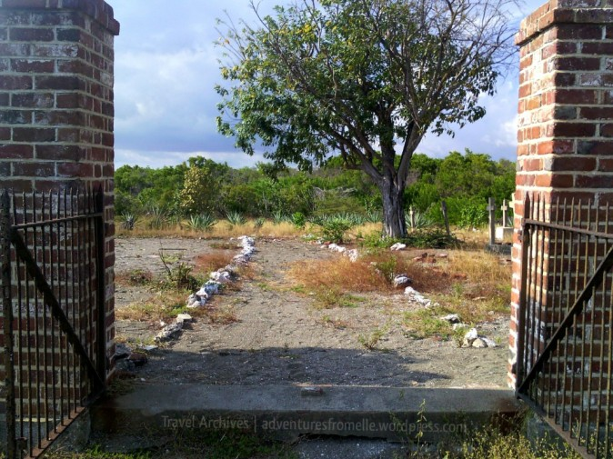 Entrance to the Old Naval Cemetery