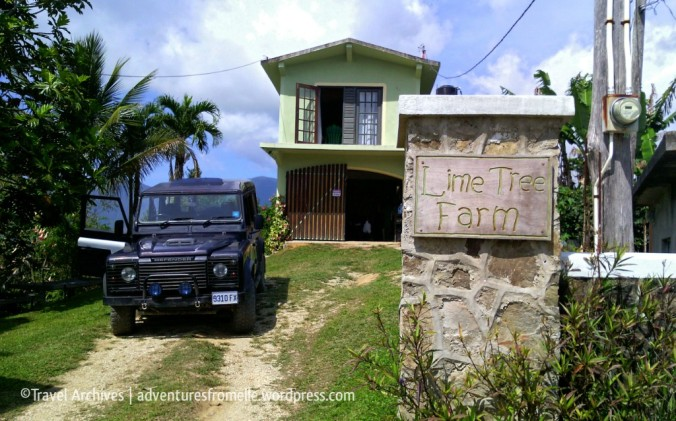 entrance to lime tree farm