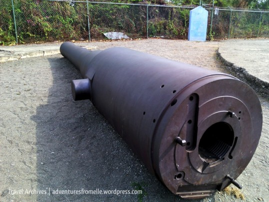 Artillery from the battery