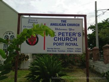 st peters church-port-royal-jamaica