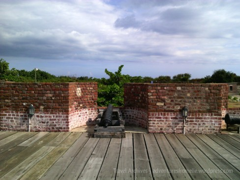 Fort Charles's cannons