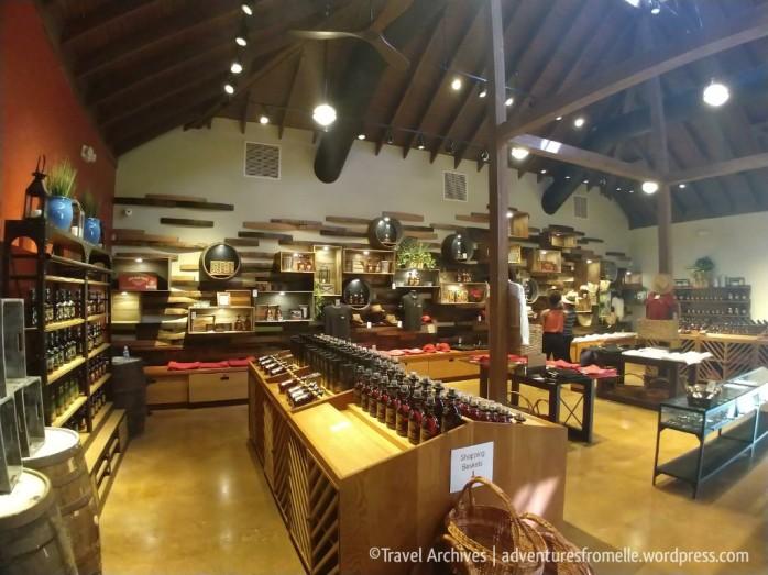 Inside the Appleton Souvenir Store