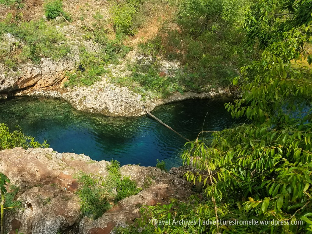 gut river-blue hole