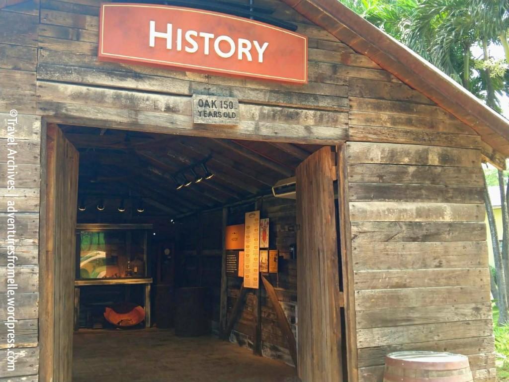 history barn-appleton rum experience 2018