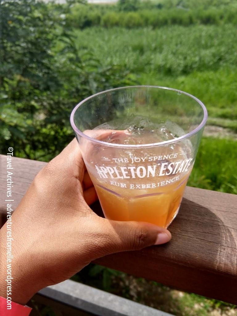 rum punch-appleton rum experience 2018