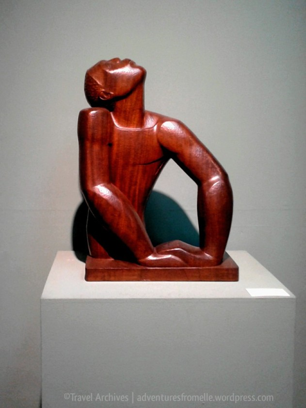 Edna Manley's most famous piece, 'Negro Aroused' at the National Gallery of Jamaica