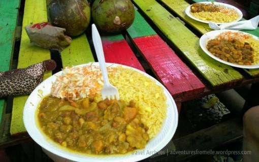 Ital stew at Life Yard