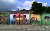 Fleet street murals