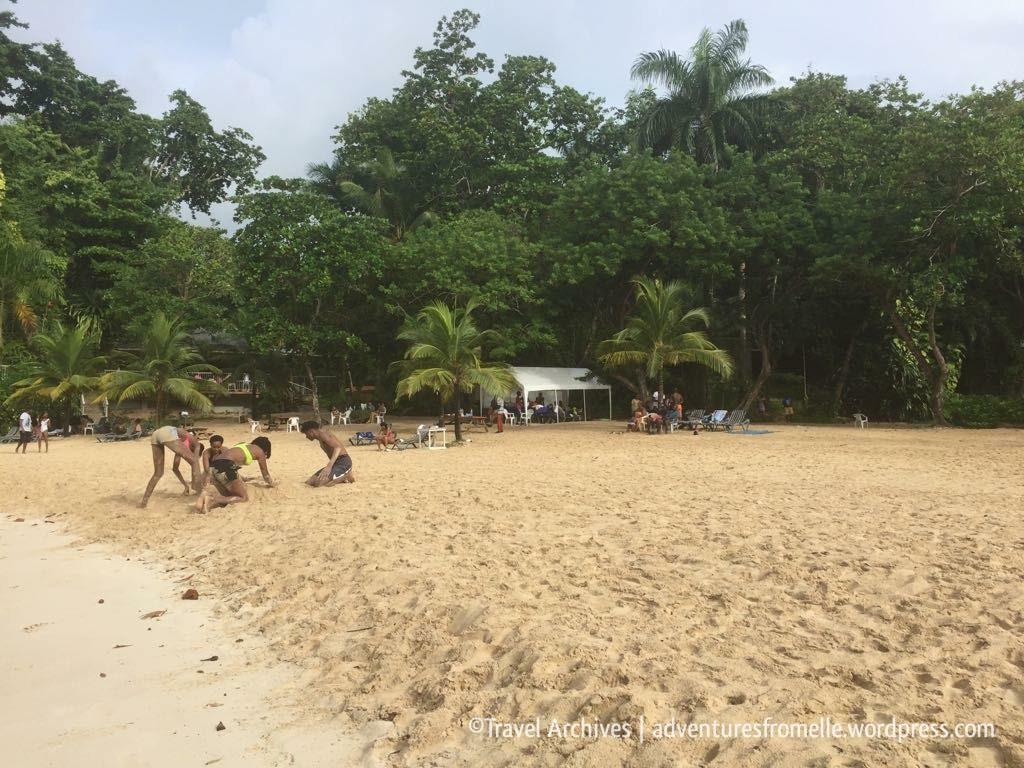sandy beach-frenchmans cove