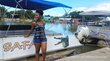 elle at the safari