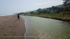 Gut River-- a river & beach escape in one!