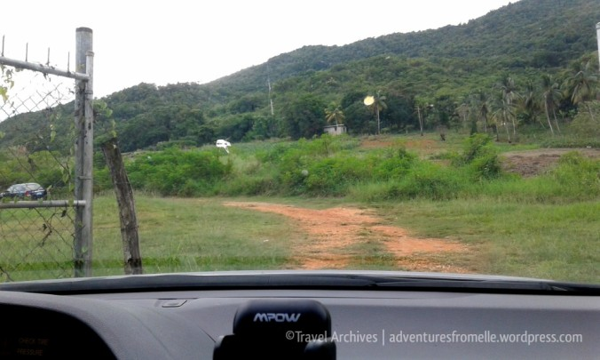 drive to breadnut valley falls